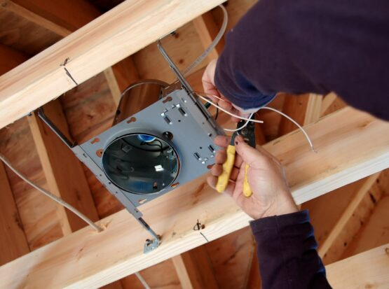 light fixtures installation Burlington VT
